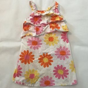 Hanna Andersson Floral sundress 4T